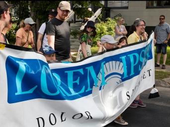 Lorem Ipsum on parade