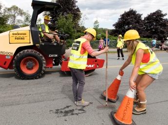 Good Intentions repair the road