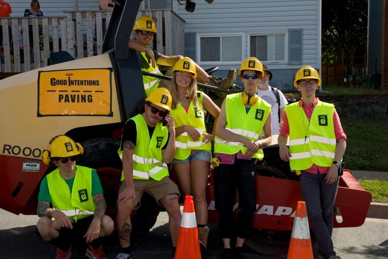 Good Intentions volunteer crew